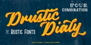 Drustic Dialy font download