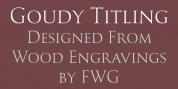 Goudy Titling font download