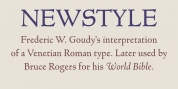 Newstyle font download