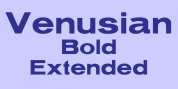 Venusian Bold Extended font download