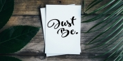 Just Be font download