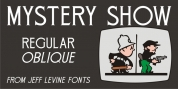Mystery Show JNL font download