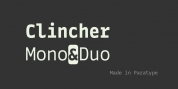 Clincher font download
