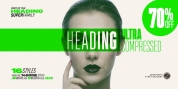 Heading Pro Ultra Compressed font download