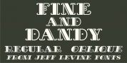 Fine And Dandy JNL font download