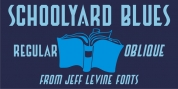 Schoolyard Blues JNL font download