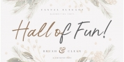 Hall Of Fun font download