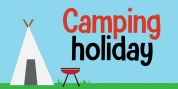 Camping Holiday font download