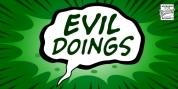 Evil Doings font download