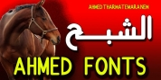 AHMED NEW font download