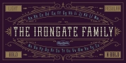 Irongate font download
