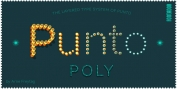 Punto Poly font download