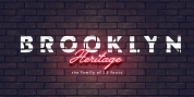 Brooklyn Heritage font download