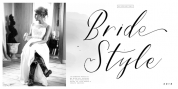 Bride Style font download