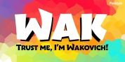 Wak font download