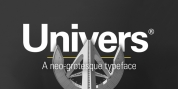 Univers font download