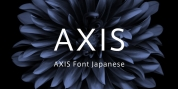 AXIS Font Japanese font download