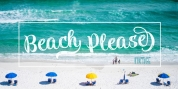 Beach Please Vintage font download