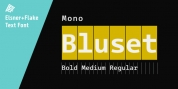 Bluset Now Mono font download