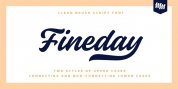 Fineday font download