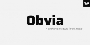 Obvia font download