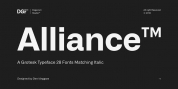 Alliance font download