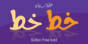 Sultan Free Bold font download