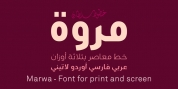 SF Marwa font download