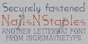 NailsNStaples font download