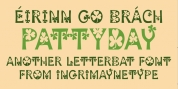 Patty Day font download
