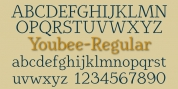 Youbee font download