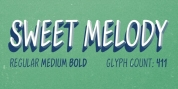 Sweet Melody font download