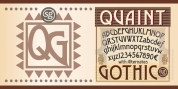 Quaint Gothic SG font download