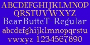 BearButte font download