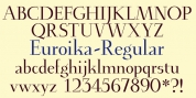 Euroika font download