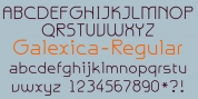 Galexica font download