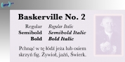 Baskerville No. 2 font download