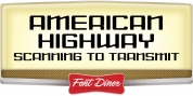 American Highway font download
