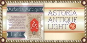 Astoria Antique SG font download