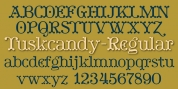 Tuskcandy font download