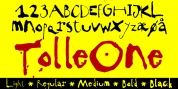 TPG Tolle One font download