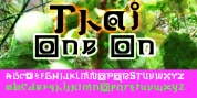 Thai One On font download