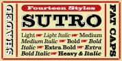 Sutro font download