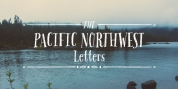 Pacific Northwest Letters font download