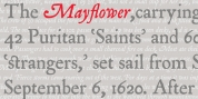 P22 Mayflower font download