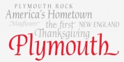 P22 Plymouth font download
