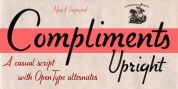 Compliments font download