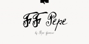FF Pepe font download