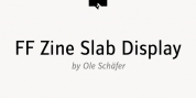 FF Zine Slab Display font download