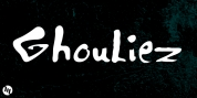 Ghouliez font download